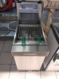 Fritadeira metalcubas FOG-2C a gás