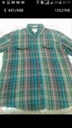 Vendo várias camisas de marca quadriculada $20,0 cadauma