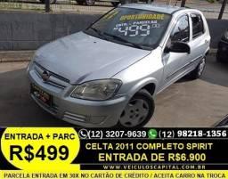 Celta 2011 Completo Spirit Parcelas de 499 reais - 2011