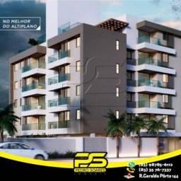 Apartamento com 2 dormitórios à venda, 56 m² por R$ 215.000,00 - Altiplano Cabo Branco - J