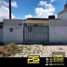 Casa com 3 dormitórios à venda por R$ 150.000,00 - Gramame - João Pessoa/PB
