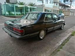 Opala diplomata 1988 completo carro placa preta leia discrição - 1988