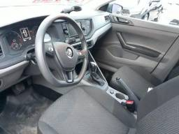 VW - VolksWagen Virtus 1.6 MSI Flex 16V 4p Aut. - Cinza Platinum - 2019