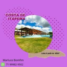 Casa de praia em Santo Amaro / Saubara. Adquira seu lote em Costa de Itapema