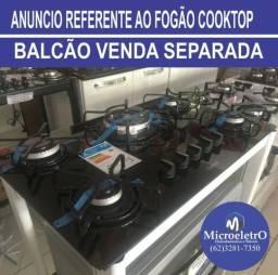 Fogão Cooktop Quadrichama 5 bocas Consul