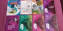 Vendo Livros Sesi 8°ano Novos na caixa