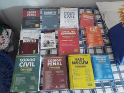 Coleção do curso de Direito.