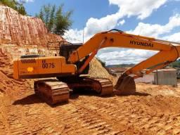 Escavadeira hiunday 210 2011 9760hs