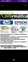 Assistência técnica especializada em Notebook e impressoras Epson  e HPs