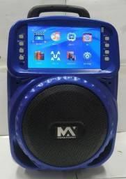 Caixa de som com tela de DVD - Max 511
