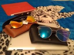 Vendo óculos originais com Proteção Uv etc