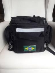 Mala Alforge mochila viagem banco moto
