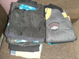 Kit roupas de menino 6 a 8 anos