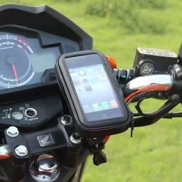 """Suporte Case Bicicleta e Moto de Celular com Ziper até 6,3"""""""