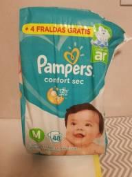 Fralda Pampers Confort Sec M 48 Unidades