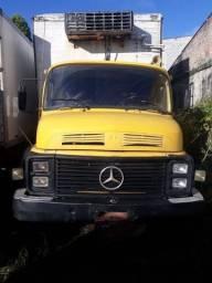 Mb 1113 truck 1986/1986 c bau frigorifico