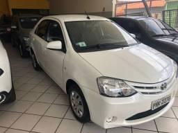 Toyota Etios XS 1.5 flex ano 2017