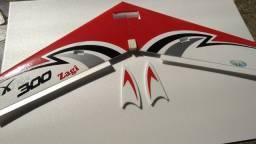 Aeromodelo Asa Zagi Extra 300 100cm Da Horizon Aeromodelos (asm) Frete grátis