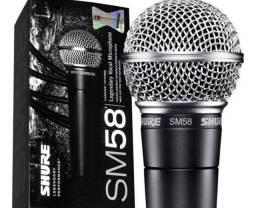 Microfone shure com nota fiscal