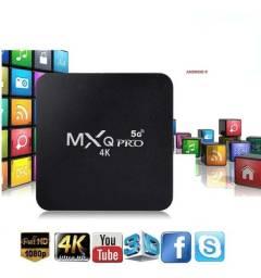 Tv Box MXQ Pro 4k 4GB Ram 64GB Flash Wifi 2.4g e 5.0g