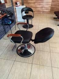 Cadeira Barbeiro Estética