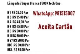 Lâmpadas Super Branca 8500K Tech One