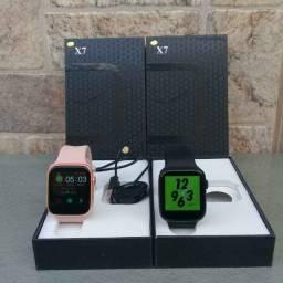 Smartwatch Iwo X7 - Troca Foto de Fundo