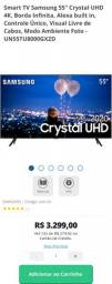 "TV Samsung55"" ultraHD 4K TU8000 Nova"
