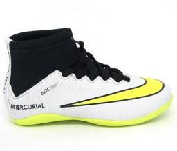 Chuteira Infantil Futsal Nike Mercurial Cano Alto