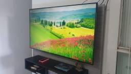 Smart TV 55 plg 4k SEMI NOVA nota tudo ok