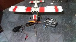 Aeromodelo elétrico completo