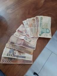 Notas de dinheiro antigo