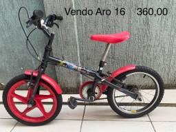 Título do anúncio: Bicicleta infantil menino