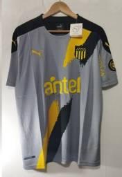 Camisa Peñarol Ii 2021/2022 Cinza Away