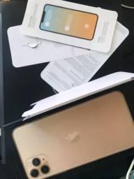 vendo caixa iPhone 11 Pro + todos os informativos