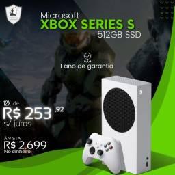 Xbox Series S 512GB Ssd - Novo c/ Garantia