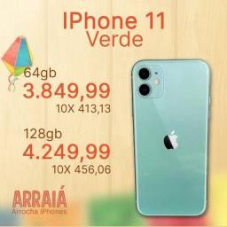 iPhone 11 128gb VERDE NOVO