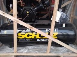 Compressor Fort Msw 40 Pés 425l 10hp 380v Trifásico - Schulz