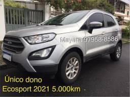 Título do anúncio: Ford Ecosport 5.000km 2021 unico dono SE 1.5 Aut