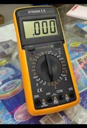 Multimetro Digital Profissional 9205 C/ Capacimetro