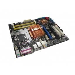 Placa Mãe  Asus P5n-d Com Processador Q9400