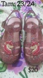Sapato menina infantil