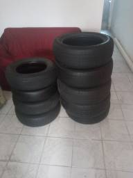 Vendo 5 pneu aro 16 +1 pneu aro 14 semi novos. Os 6 por 300reais