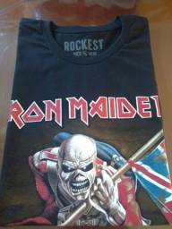 Título do anúncio: Camiseta de Rock