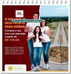 Título do anúncio: * Lotes às margens da Avenida Deputado Paulino Rocha *