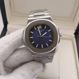Relógio Patek Philippe Nautilus Azul Automático