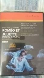 DVD da Ópera Romeu e Julieta legendado em Português