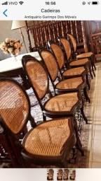 Cadeiras medalhões