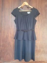 Título do anúncio: Vestido curto azul marinho