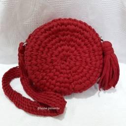 Bolsa Baho Artesanal Vermelha